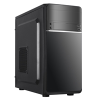 Cronus Leto Micro Tower 1 X Usb 3.0 / 2 X Usb 2.0 Black Case Taz1422b-hdf8-u3-leto - Tgt01