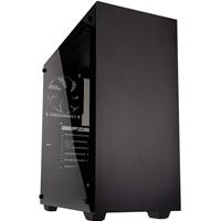 Kolink Stronghold Full Tower 1 X Usb 3.0 / 2 X Usb 2.0 Tempered Glass Side Window Panel Black Case Stronghold - Tgt01