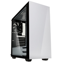 Kolink Stronghold Full Tower 1 X Usb 3.0 / 2 X Usb 2.0 Tempered Glass Side Window Panel White Case Stronghold White - Tgt01