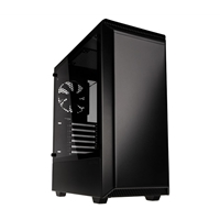 Phanteks Eclipse P300 Full Tower 2 x USB 3.0 Tempered Glass Side Window Panel Black Case with RGB LED Light Strip
