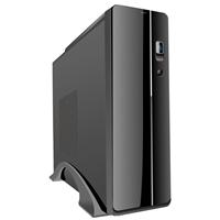 CiT S003B Thin Client Micro ATX 2 x USB 2.0 Black Case with 300W PSU