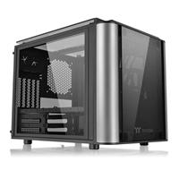Thermaltake Level 20 Vt Micro Tower 2 X Usb 3.0 / 2 X Usb 2.0 4 X Tempered Glass Window Panels Black Case Ca-1l2-00s1wn-00 - Tgt01