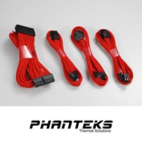 Phanteks Red 0.50m Extension Cable Combo Kit