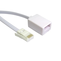 BT (M) to BT (F) 10m White OEM Extension Cable