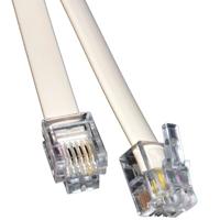 RJ11 (M) to RJ11 (M) 20m White OEM Cable