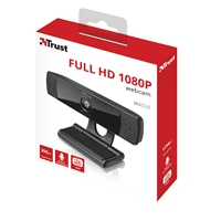 Trust 21596 Macul Full HD 1080P Webcam