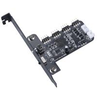 Akasa Vegas RGB LED PCI-E Control Card with Low Profile Bracket Incluced