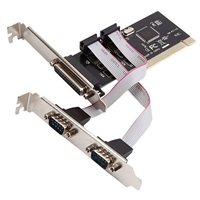 Dynamode One Parallel and Two Serial Ports PCI Controller Card