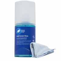 Af 200ml Multiscreen Clene With Microfibre Cloth Mca_200mif - Tgt01