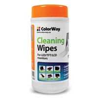Colorway Cleaning Wipes For Lcd And Tft Screens 100 Sheets Cw-1071 - Tgt01