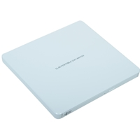 Hitachi-LG GP60NW60 8x DVD-RW USB 2.0 White Slim External Optical Drive