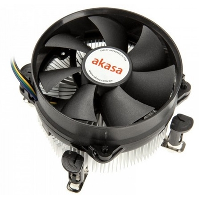 Akasa AK-959CU Intel Socket 92mm PWM 3000RPM Low Noise Fan CPU C
