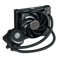 Cooler Master Masterliquid Lite 120 Universal Socket 120mm Pwm 2000rpm Black Aio Liquid Cpu Cooler Mlw-d12m-a20pw-r1 - Tgt01