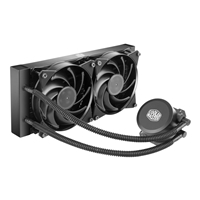 Cooler Master Masterliquid Lite 240 Aio Universal Socket 240mm Pwm 2000rpm Fan Liquid Cpu Cooler Mlw-d24m-a20pw-r1 - Tgt01