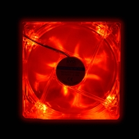 Evo Labs 120mm 1000rpm Red Led Oem Fan Evofan12r3 - Tgt01