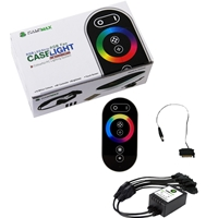 Game Max 4-pin RGB Remote Control & Receiver With Touch Control