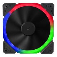 Target Halo Dual Ring 120mm 1100RPM 18 LED RGB Fan
