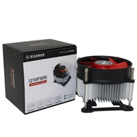 Xilence XC032 I250PWM Intel Socket Single Fan Black & Red Fan CPU Cooler