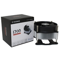 Xilence I200 Intel Socket Single Fan Black Fan Cpu Cooler Xc030 - Tgt01