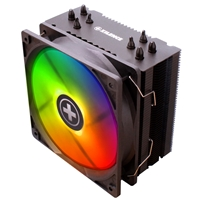Xilence M704-rgb Universal Socket Single 120mm Pwm 1600rpm Rgb Fan Black Fan Cpu Cooler Xc054 - Tgt01