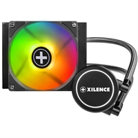 Xilence Performance A+ Series Liqurizer Lq120 Rgb Universal Socket 120mm 1600rpm Rgb Led Oem System Builder Aio Liquid Cpu Cooler Xc072 - Tgt01