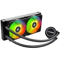 Xilence Performance A+ Series Liqurizer Lq240 Rgb Universal Socket 240mm 1600rpm Rgb Led Oem System Builder Aio Liquid Cpu Cooler Xc076 - Tgt01