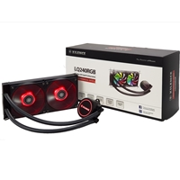 Xilence Performance A+ Series Liqurizer Lq240 Rgb Universal Socket 240mm 1600rpm Rgb Led Aio Liquid Cpu Cooler Xc976 - Tgt01