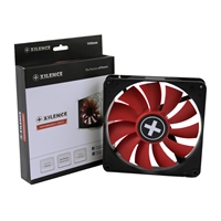 Xilence Performance C 140mm 700rpm Pwm Red Fan Xf051 - Tgt01