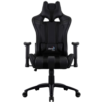 Aerocool Ac120 Air Black Gaming Chair With Air Technology Headrest & Backrest Cushions Included Acgc-2010111.11 - Tgt01