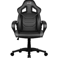Aerocool Ac60c Air Black Gaming Chair With Air Technology & Unique Carbon Fibre Blend Acgc-1015011.11 - Tgt01