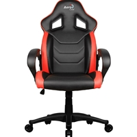 Aerocool Ac60c Air Black And Red Gaming Chair With Air Technology & Unique Carbon Fibre Blend Acgc-1015011.r1 - Tgt01