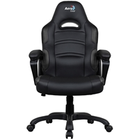 Aerocool Ac80c Air Black Gaming Chair With Air Technology & Unique Carbon Fibre Blend Acgc-1014011.11 - Tgt01