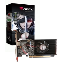Afox Geforce Gt210 1gb 64bit Ddr3 Low Profile Single Fan Pci-e Graphics Card Af210-1024d3l5 - Tgt01