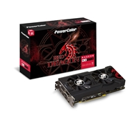 Powercolor Radeon Rx 570 Red Dragon 4gb Gddr5 Vr Ready Dual-fan Cooling System Graphics Card Axrx 570 4gbd5-3dhd/oc - Tgt01