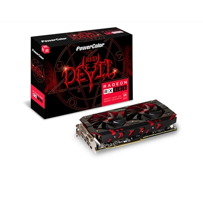 PowerColor Radeon RX 580 Red Devil 8GB GDDR5 VR Ready Dual-Fan C