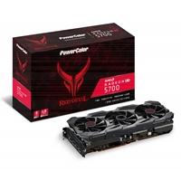 Powercolor Amd Radeon Rx 5700 8gb Red Devil Triple Fan Graphics Card Axrx 5700 8gbd6-3dhe/oc - Tgt01