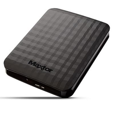 """Maxtor M3 500GB USB 3.0 Black 2.5""""Portable External Hard Drive"""