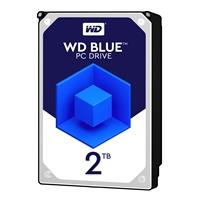 """WD Blue WD20EZRZ 2TB 3.5"""" 5400RPM 64MB Cache SATA III Internal Hard Drive"""