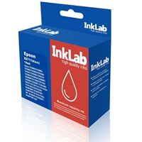 InkLab 711 Epson Compatible Black Replacement Ink