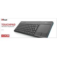 Trust Veza Wireless Touchpad Keyboard 21209 - Tgt01