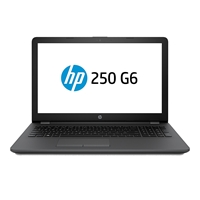 "HP 250 G6 Intel i5 7200U 2.5GHz 500GB HDD 4GB RAM 15.6"" Widescreen DVD-RW Windows 10 Home Black Laptop"