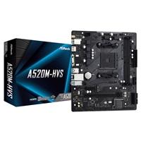 Asrock A520m-hvs Amd Socket Am4 Micro Atx Vga/hdmi M.2 Usb 3.2 Gen1 Motherboard A520m-hvs - Tgt01