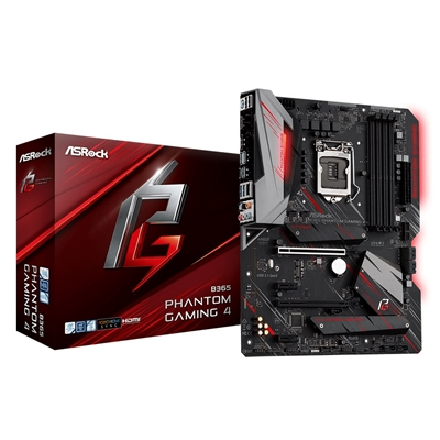 ASRock B365 Phantom Gaming 4 Intel Socket 1151 ATX HDMI/DIsplayP