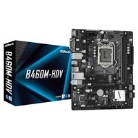 Asrock B460m-hdv Intel Socket 1200 10th Gen Micro Atx Hdmi/vga/dvi M.2 Usb 3.2 Gen1 Motherboard B460m-hdv - Tgt01