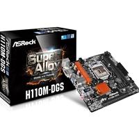 ASRock H110M-DGS R3.0 Intel Socket 1151 Micro ATX DDR4 DVI-D USB 3.0 Motherboard
