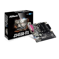 Asrock J3455b-itx Embedded Intel Cpu Quad Core J3455 2.3ghz Mini-itx Ddr3/ddr3l So-dimm D-sub/hdmi Usb 3.0 Motherboard J3455b-itx - Tgt01