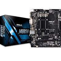 ASRock J4005M Embedded Intel CPU Dual Core J4005 2.7GHz Micro ATX DDR4 D-Sub/DVI-D/HDMI USB 3.1 Motherboard