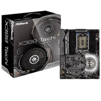 ASRock X399 Taichi AMD Socket TR4 Ryzen Threadripper ATX DDR4 Ultra M.2 USB 3.1/Type-C Motherboard