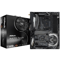 ASRock X470 Taichi AMD Socket AM4 ATX DDR4 HDMI USB 3.1 Motherboard