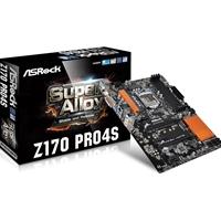 ASRock Z170 PRO4S Intel Socket 1151 ATX DDR4 DVI-D/HDMI USB 3.0 Motherboard